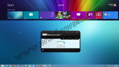 Windows 8 ImmersiveTaille