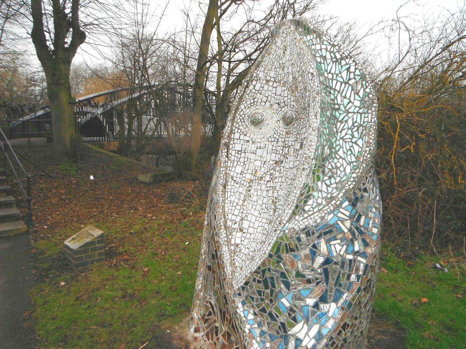 'Watching The Washlands' - sculpture by Hattie Coppard