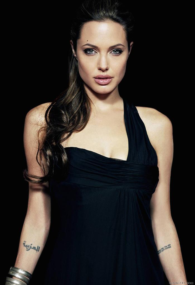 Angelina Jolie Long Hairstyles 7