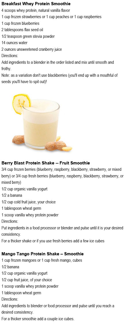 weight loss smoothies without protein powder