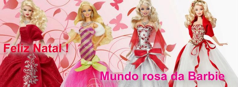 Mundo rosa da Barbie