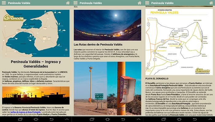 Mapas y Guiadas por Península Valdés
