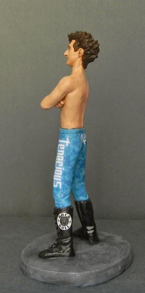 action figure idea regalo sportivi lotta lottatore wrestling statuetta orme magiche
