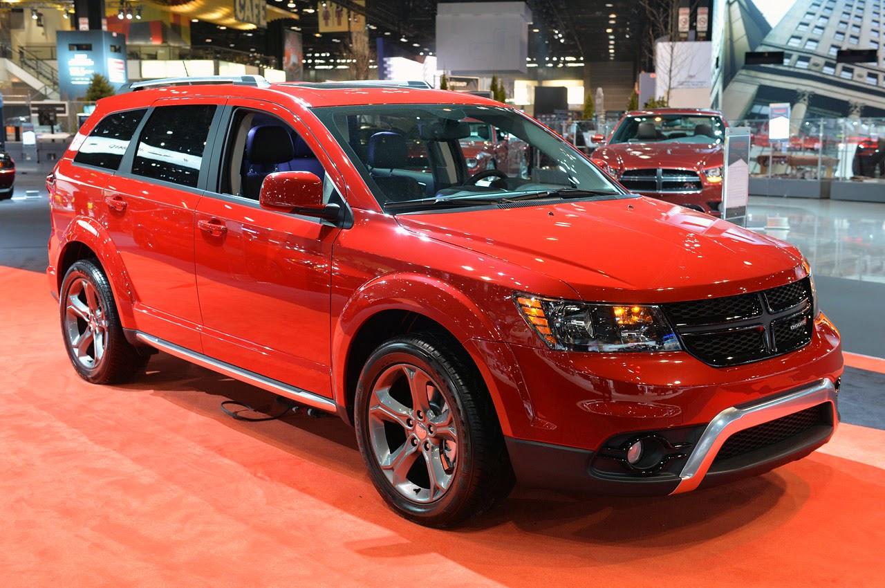 Automotiveblogz: 2014 Dodge Journey Crossroad: Chicago 2014 Photos