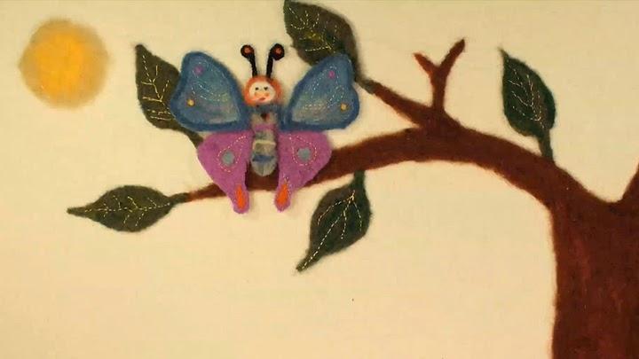 Caterpillar and Hen