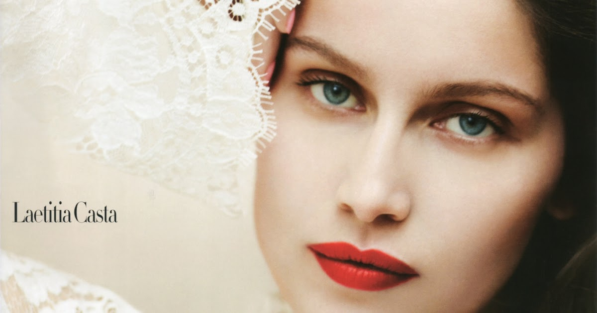 Fashion Maniac: Laetitia Casta by Sebastian Faena for UK ...