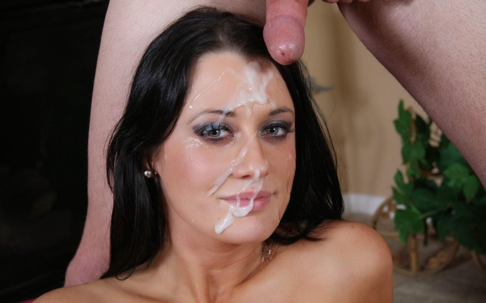 Фото спера в лицо, Сперма на красивых женских лицах секс фото и порно 4 фотография