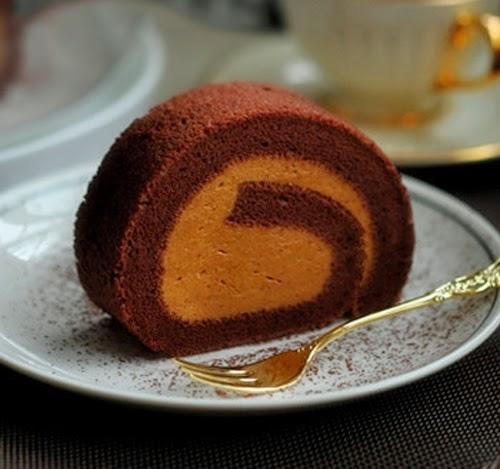 Cách làm bánh cuộn Cacao cực ngon 2