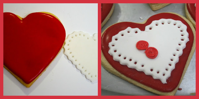 Galleta decorada San Valentin
