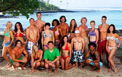 The cast of Survivor: One World