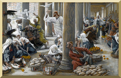"""The Merchants Chased from the Temple"" -- by James Tissot (1886-1894)"