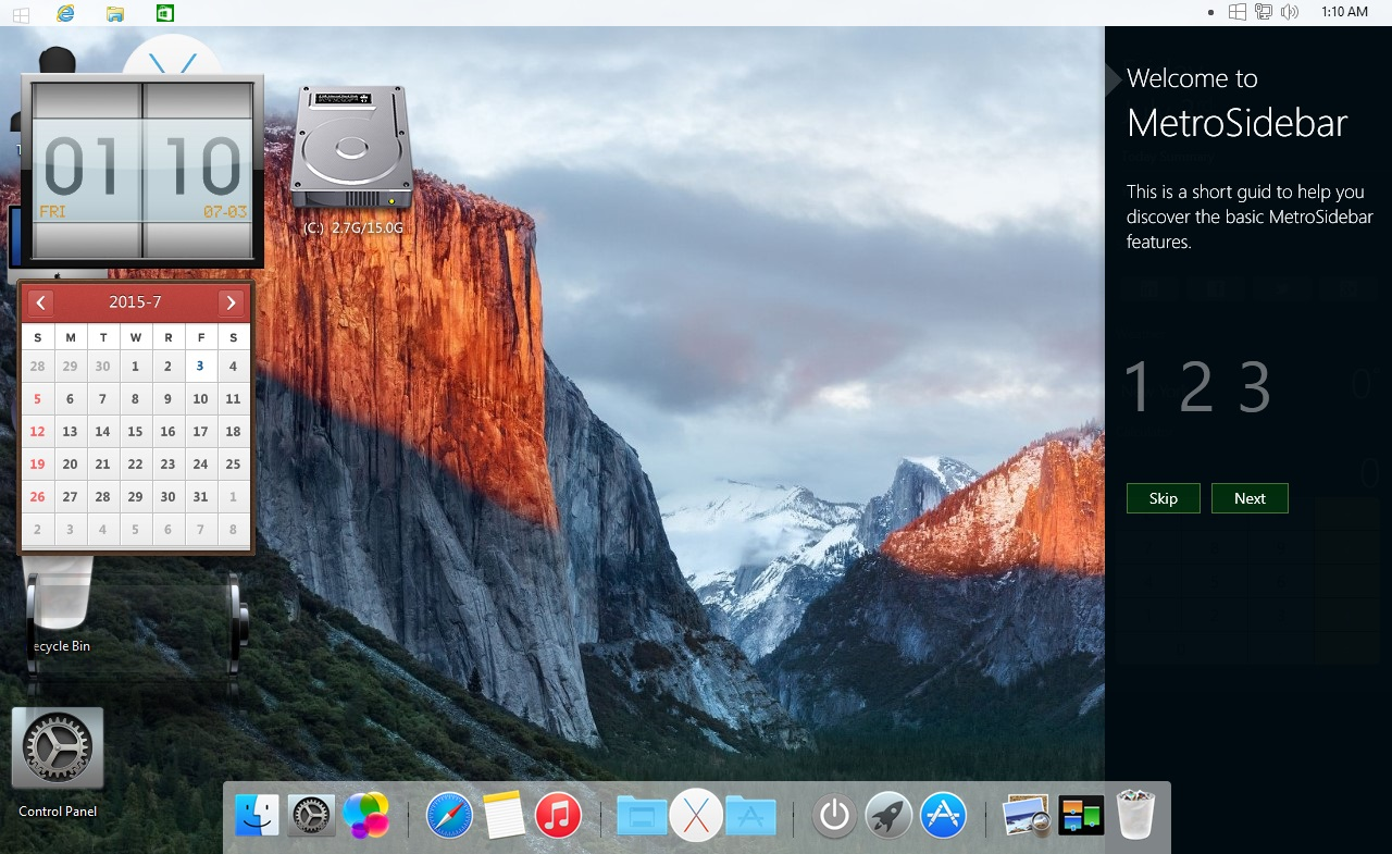 How to install Apple OS X El Capitan operating system on Windows PC