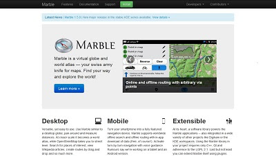 Marble, Map