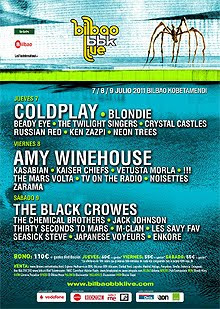 Cartel definitivo del Bilbao BBK Live con The Twilight Singers, Les Savy Fav o Japanese Voyeurs