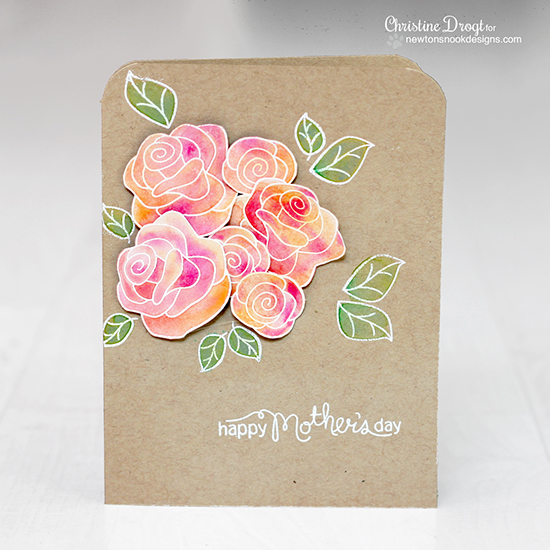 Mother's Day card by Christine Drogt for Newton's Nook Designs | Love Grows