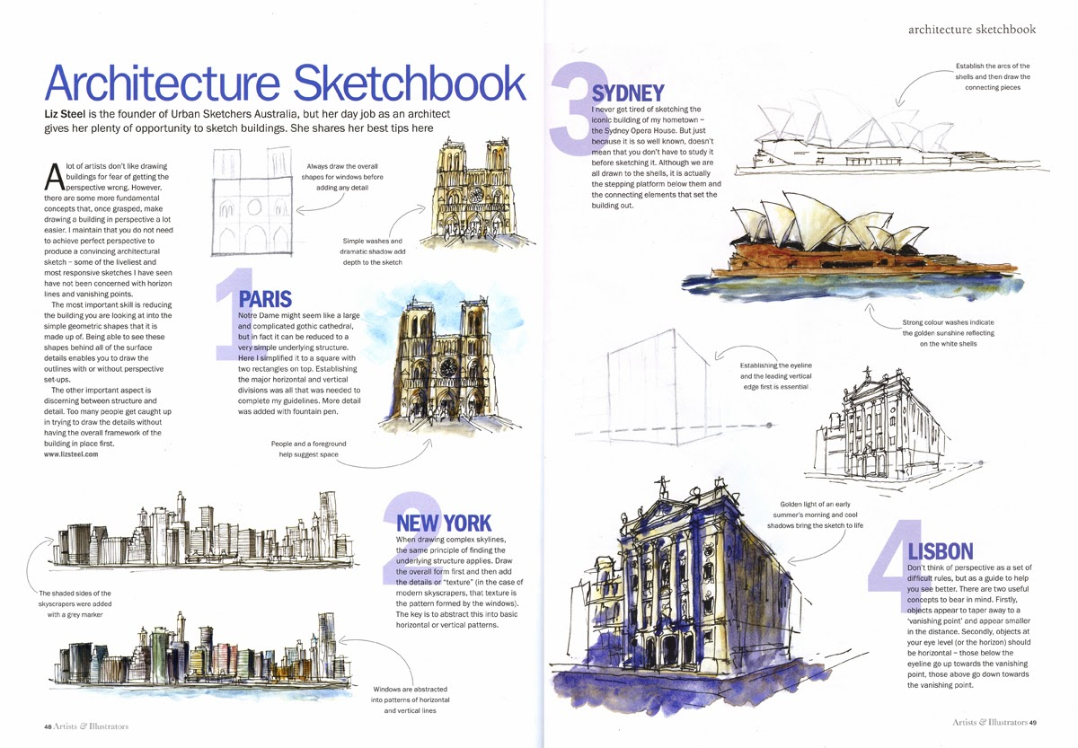 Here Is The Article It A Good Summary Of Some Things That I Will Be Sharing In My Upcoming Sketching Architecture Classes Workshop