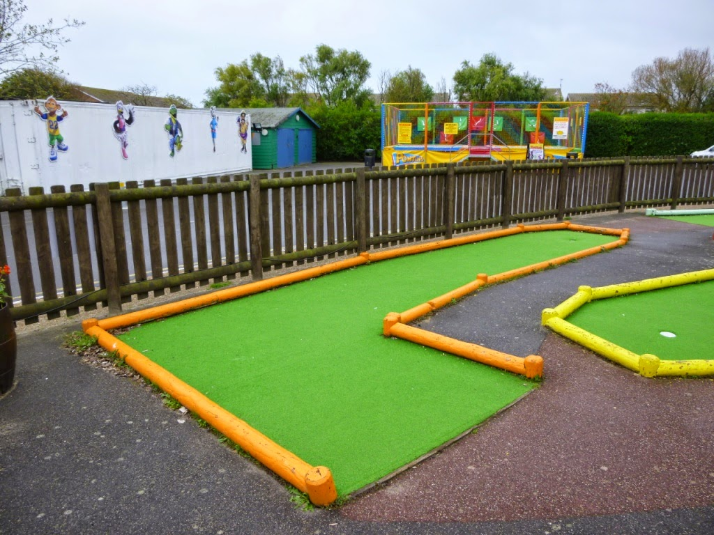 Pirate Crazy Golf at Pontins Camber Sands