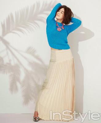 Go Na Eun InStyle Magazine June 2013