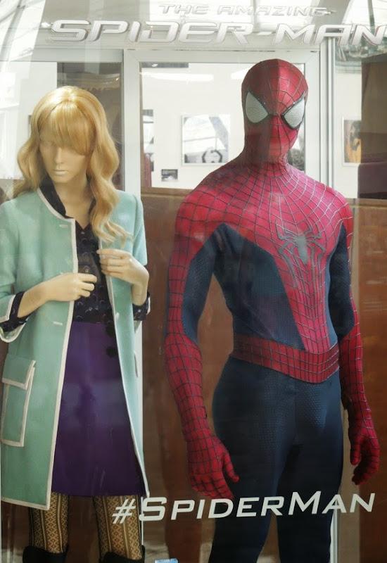 Gwen Stacy Amazing Spider-man 2 movie costumes