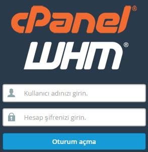 Linux'de SSH Üzerinden WHM/cPanel İşlemleri