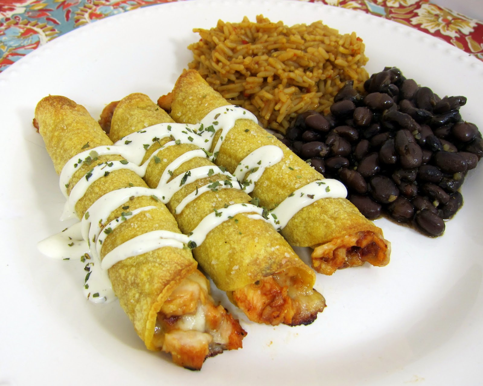 Chipotle BBQ Chicken Taquitos | Plain Chicken