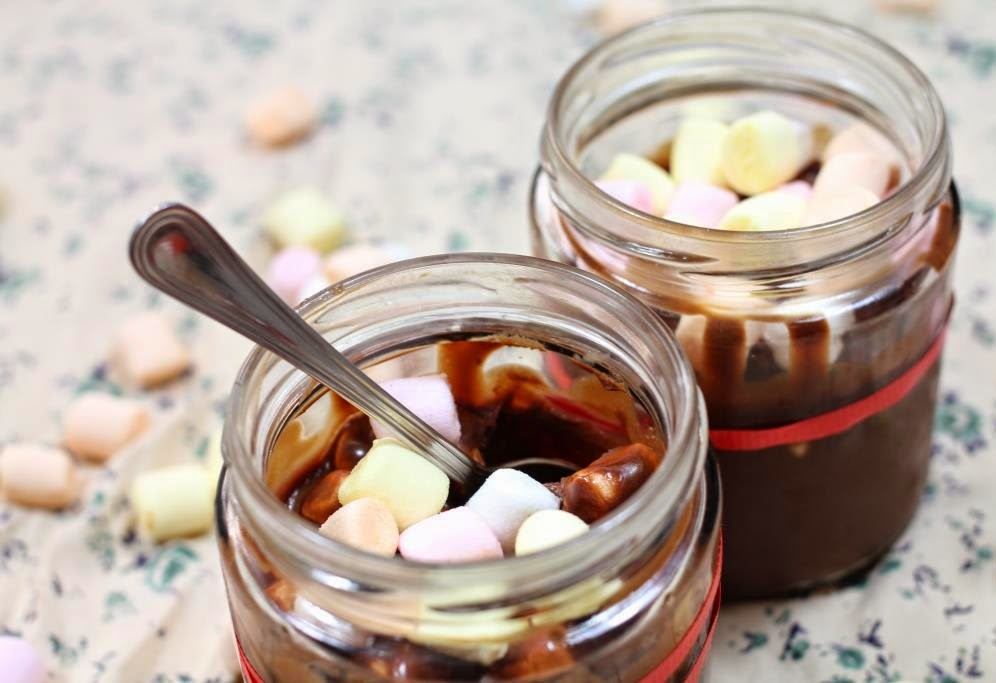 El dulce mundo de Nerea - Mousse de chocolate y marshmallows