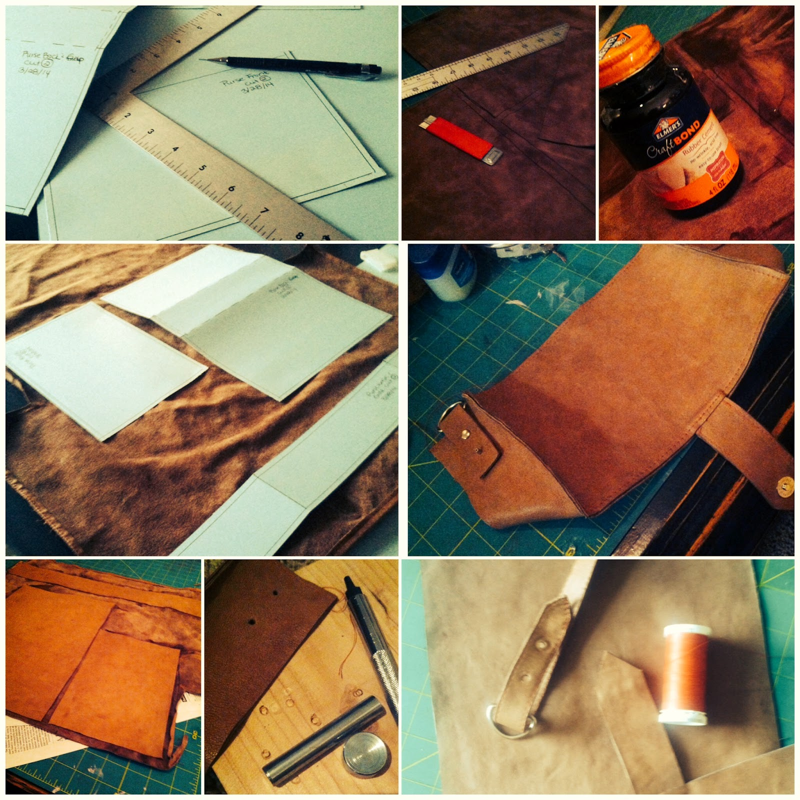 Leather Purse Process
