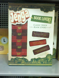 Book Lovers Jenga