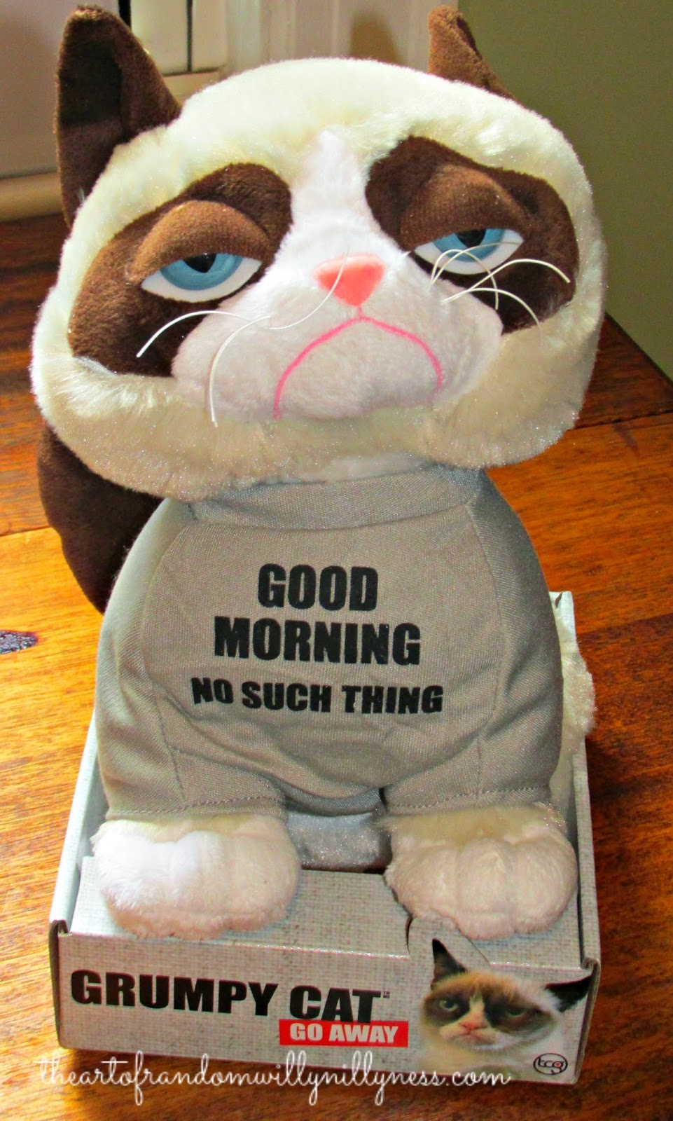 Grumpy Cat Plush Toy Urban Outfitters