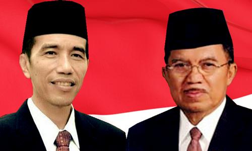 Joko Widodo dan Jusuf Kalla Sah Menjadi Presiden dan Wakil Presiden Indonesia Ke-7