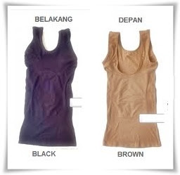 Black and Brown Qiaonasi Slimming Cloth