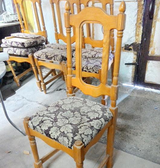 Мастер классы по реставрации стульев 12