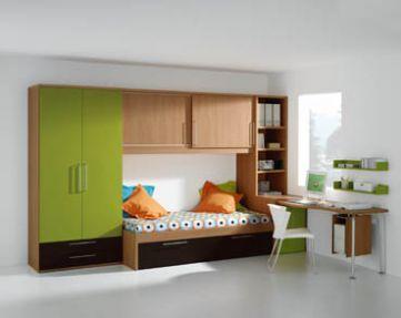 Modernos closets para ni os y jovenes decorando mejor for Closet para ninos madera