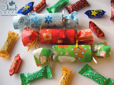хлопушки с конфетами