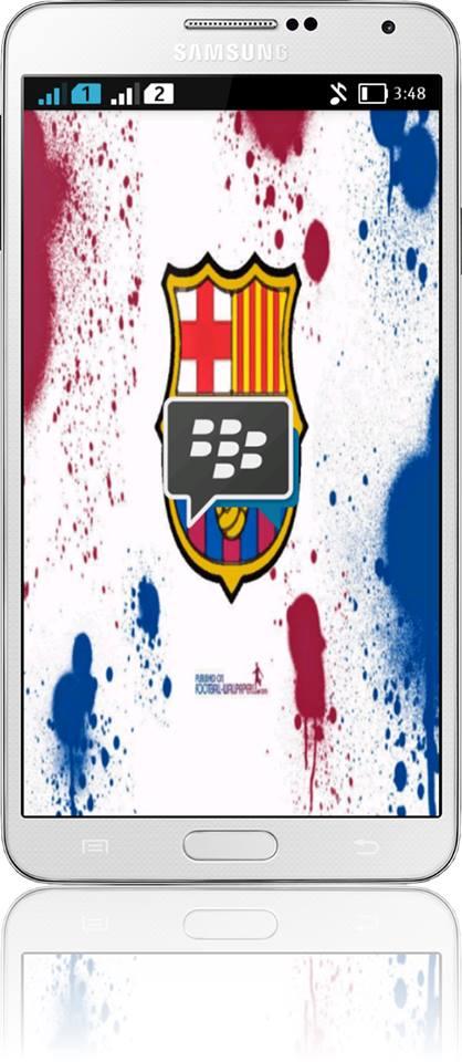 BBM Barcelonista Apk