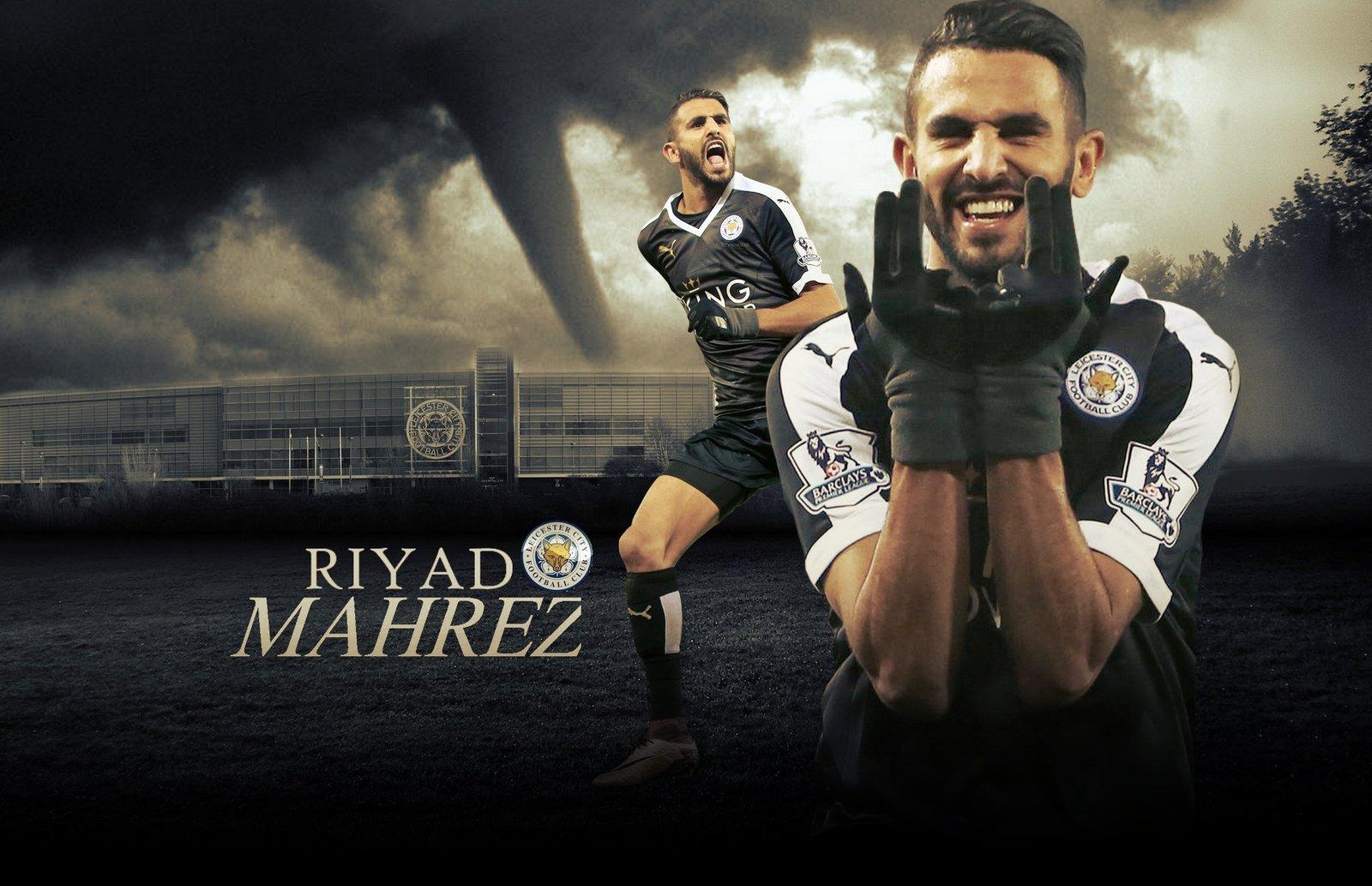 Riyad Mahrez Wallpaper Iphone