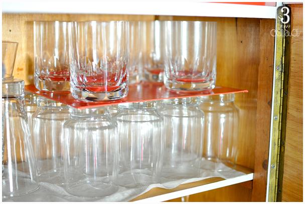 como guardar copos