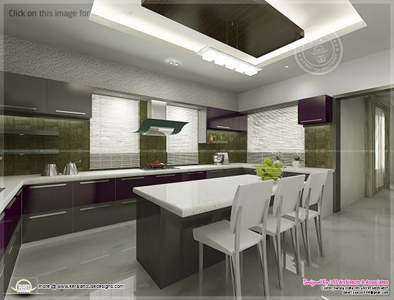 Kitchen interior views
