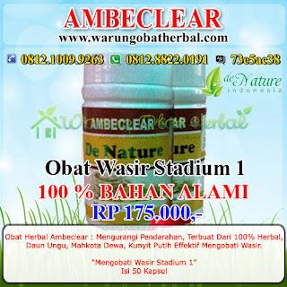 Obat Wasir Paket 1 - De Nature Indonesia