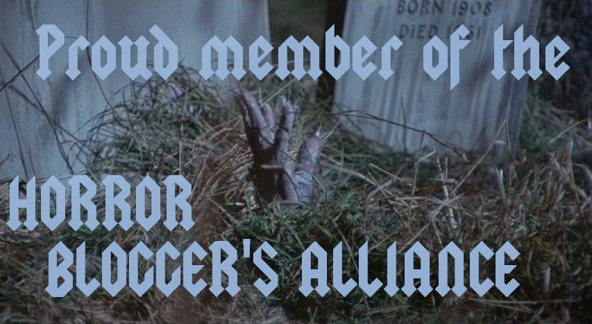 Proud  member of the Horror Blogger's Alliance