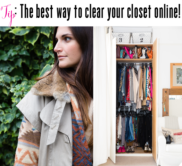 How to clean your closet and make money this year.