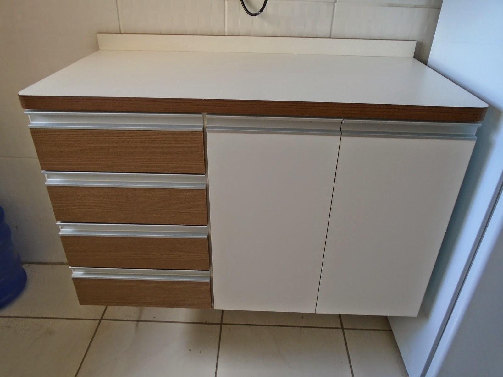 Cozinha Planejada Dona Dionísia & Dércio Branco com Carvalh  #3A6291 1600 1200