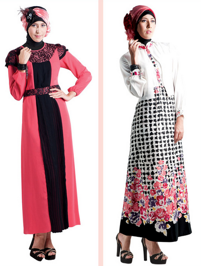 Trend Baju Muslim Brokat 2015