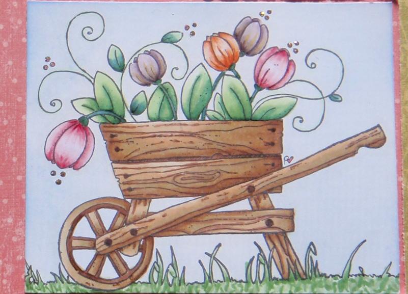 Bricolage de brigitte le printemps est parmi nous spring is here - Bricolage de printemps ...