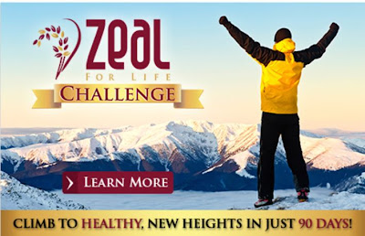 Take the Zeal for Life Challenge