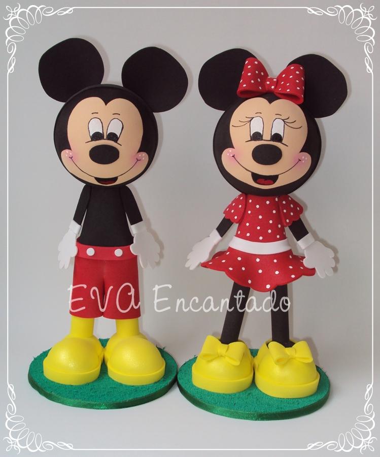 Mickey E Minie No EVA Encantado