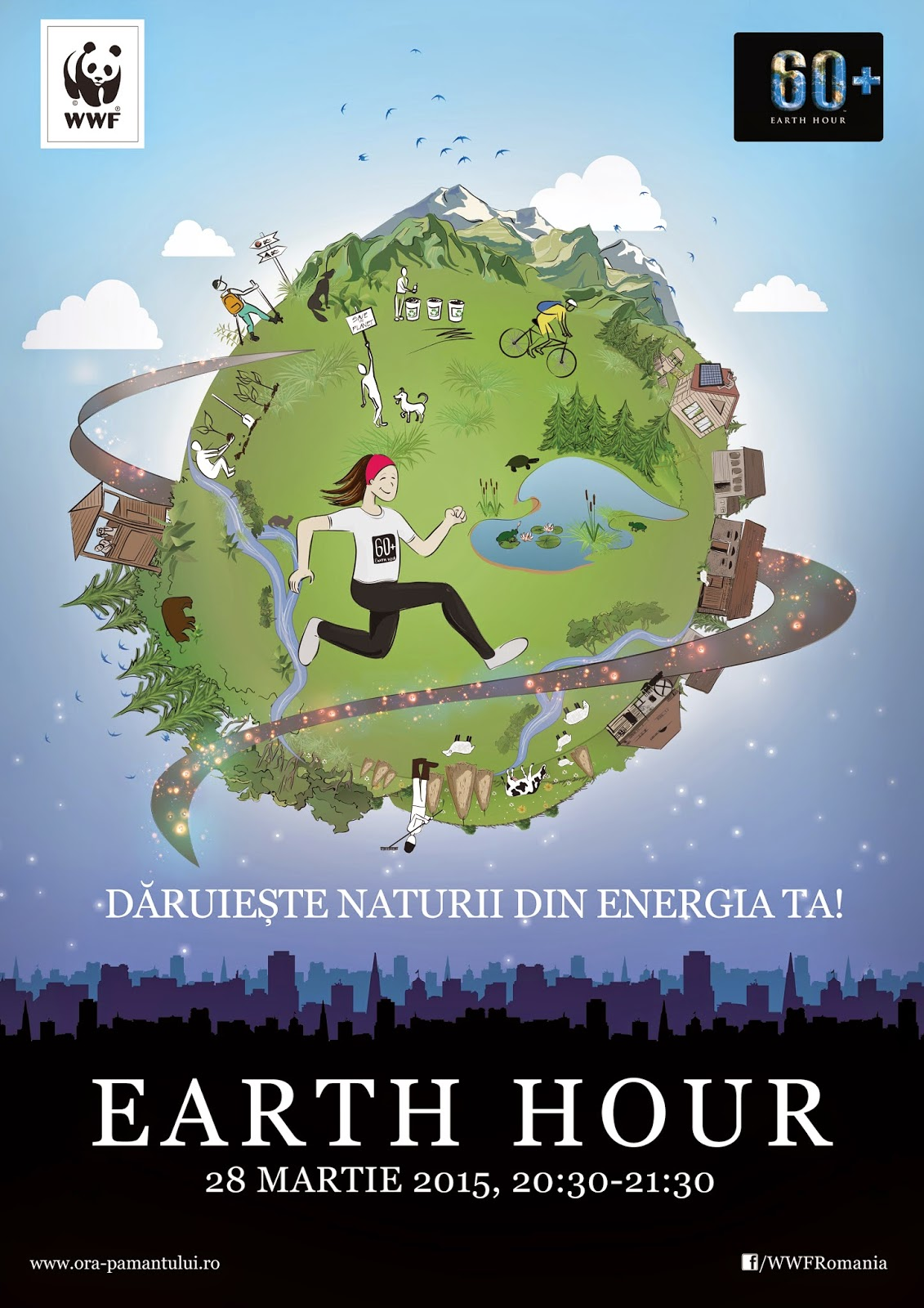 Ora Pămantului 2015 - Earth Hour 2015
