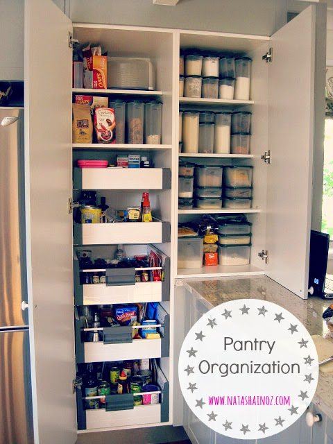 Pantry organisation ideas galore for your kitchen cupboards,kitchen drawers and your home. Natasha in Oz.