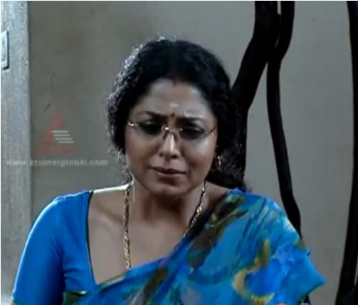 Asha Sharath In Kumkumapoovu Serial Courtesy Asia