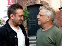 Roskilde 2018 med bookerne Thomas Sønderby Jepsen og Peter Hvalkof. 14. juni 2018
